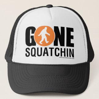 Wilde Gang-Entwürfe - gegangenes Squatchin orange Truckerkappe