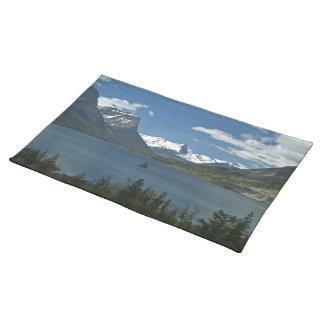 Wilde Gans-Insel - Glacier Nationalpark Stofftischset
