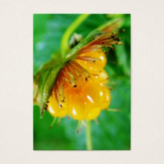 wilde gelbe Beere Visitenkarte
