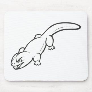 Wilde Gila-Krustenechse Mousepads