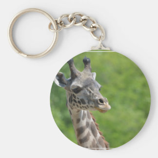 Wilde Giraffe Schlüsselanhänger