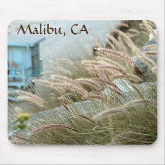 Wilde Gräser auf Malibu-Strand Kalifornien Mauspads