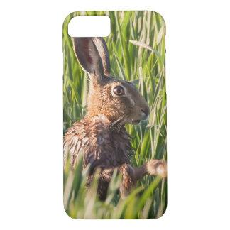 Wilde Hasen, die ein nahes hohes der Wäsche haben iPhone 8/7 Hülle