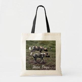 Wilde Hunde Tragetasche