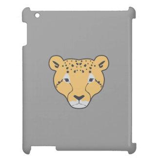 wilde Katze grauer ipad Kasten iPad Hülle