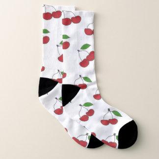 Wilde Kirschmuster-Socken Socken