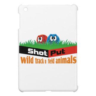 Wilde Leichtathletiktiere iPad Mini Hülle