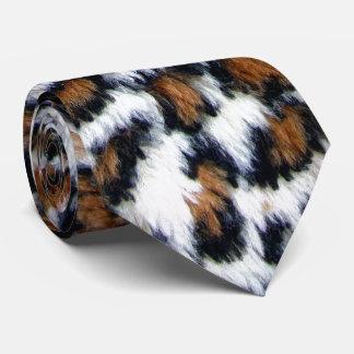 Wilde Leopard-Pelz-Hals-Krawatte Krawatten