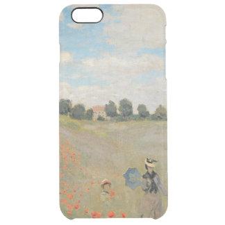 Wilde Mohnblumen Claude Monets |, nahe Argenteuil Durchsichtige iPhone 6 Plus Hülle