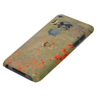 Wilde Mohnblumen Claude Monets  , nahe Argenteuil iPod Case-Mate Case