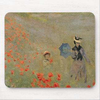 Wilde Mohnblumen Claude Monets |, nahe Argenteuil Mousepad