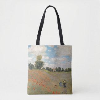 Wilde Mohnblumen Claude Monets |, nahe Argenteuil Tasche