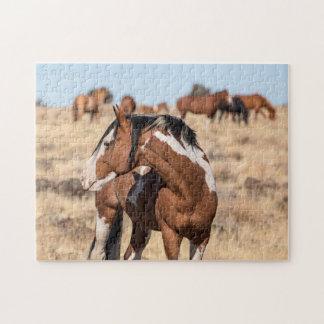 Wilde Mustangs Puzzle