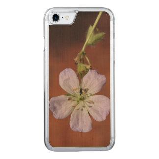 Wilde Pelargonie Carved iPhone 8/7 Hülle