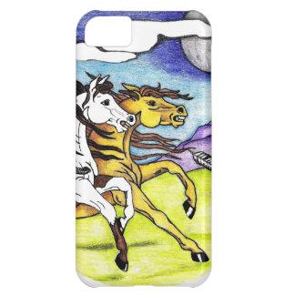 Wilde Pferde, die frei laufen iPhone 5C Hülle