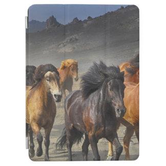 Wilde Pferde iPad Air Hülle