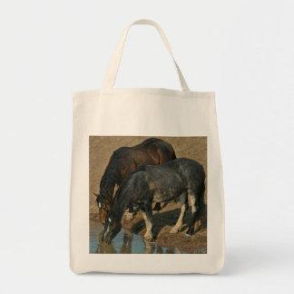 Wilde Pferde Tragetasche