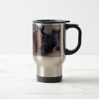 Wilde Pferdereise-Tasse