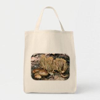 Wilde Pilz-Mischungs-Blumennatur-Taschen-Tasche Tragetasche