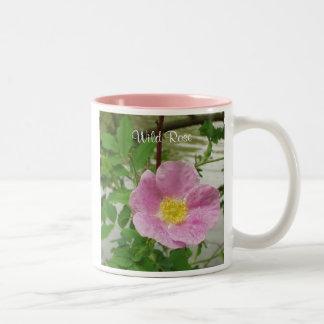 Wilde Rose Zweifarbige Tasse
