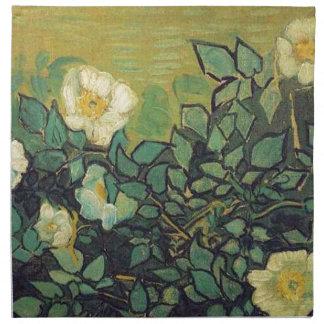 Wilde Rosen, 1890.  Vincent van Gogh. Stoffserviette