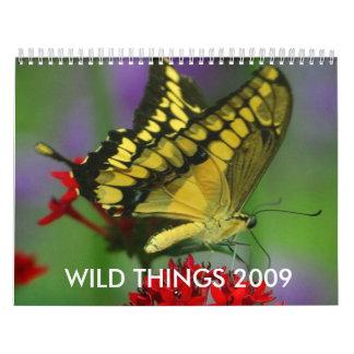 Wilde Sachen 2009,… Abreißkalender
