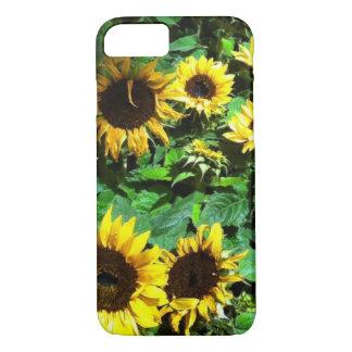 Wilde Sonnenblumen iPhone 8/7 Hülle