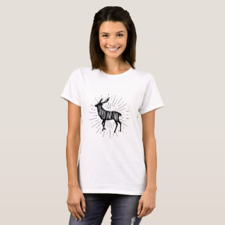 Wilde und freie Outdoorsy Rotwild T-Shirt