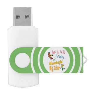 Wilde verrückte wunderbare große USB stick