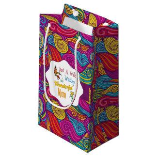 Wilde verrückte wunderbare Mamma-Geschenke Kleine Geschenktüte