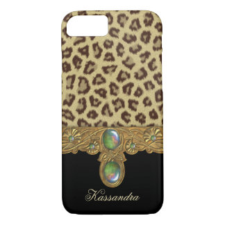 Wilder Eleganz-Leopard iPhone 8/7 Hülle