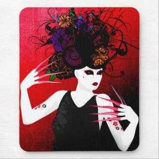 Wilder Frühlings-surreale Kunst Mousepad