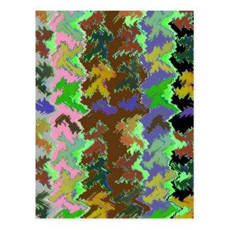Wilder grüner Dschungel Postkarte