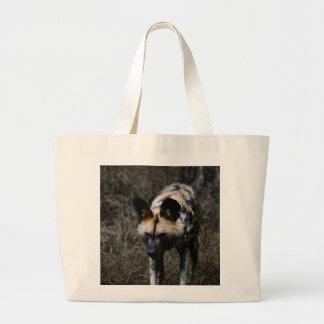 Wilder Hund Jumbo Stoffbeutel