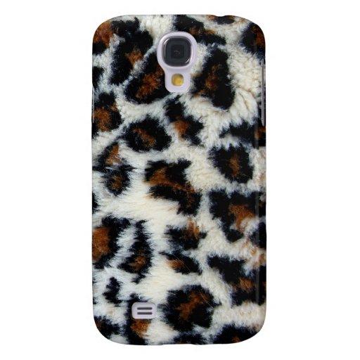 Wilder Kasten des Leopard-Pelz-iPhone3 Galaxy S4 Hülle