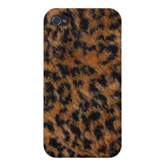 Wilder Kasten des Leopard-Pelz-iPhone4 iPhone 4 Case