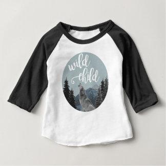 Wilder Kinderbaby-Baseball T Baby T-shirt