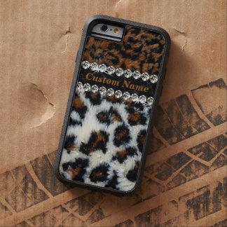 Wilder Leopard-Pelz-Druck iPhone 6 Fall Tough Xtreme iPhone 6 Hülle
