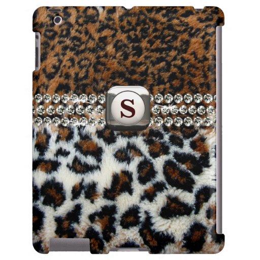Wilder Leopard-Pelz iPad Fall