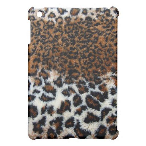 Wilder Leopard-Pelz iPad Fall iPad Mini Hüllen