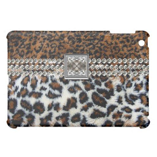 Wilder Leopard-Pelz iPad Mini Hülle