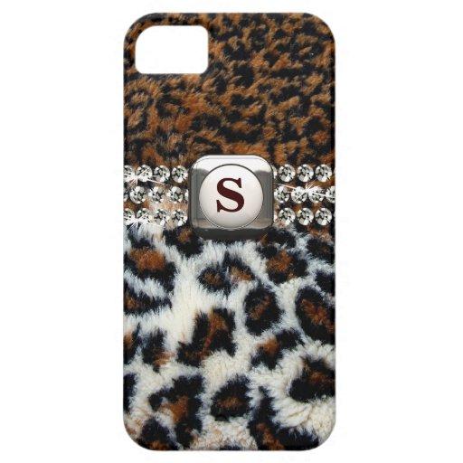 Wilder Leopard-Pelz iPhone 5 Fall iPhone 5 Case