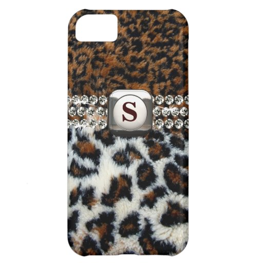 Wilder Leopard-Pelz iPhone 5 Fall Hüllen Für iPhone 5C