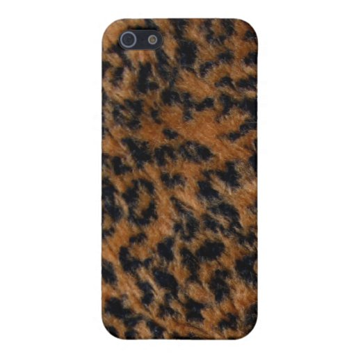 Wilder Leopard-Pelz iPhone 5 Fall iPhone 5 Etuis