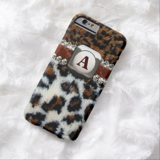 Wilder Leopard-Pelz iPhone 6 Fall Barely There iPhone 6 Hülle