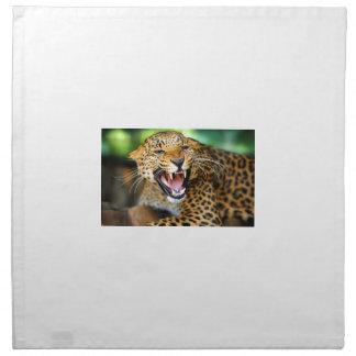Wilder Leopard Serviette