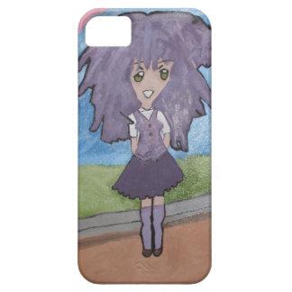 Wilder lila iPhone 5C/5S Kasten iPhone 5 Cover