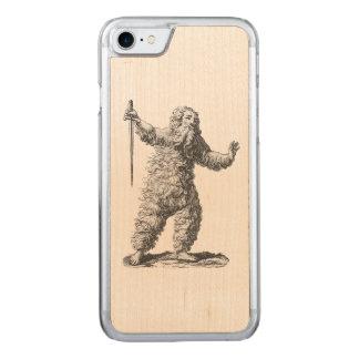 Wilder Mann - Wildemann - Zahl von der Carved iPhone 8/7 Hülle