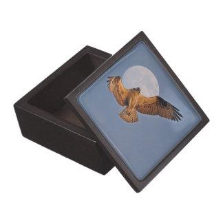 Wilder Osprey u. Supermond-Foto-Entwurf Kiste