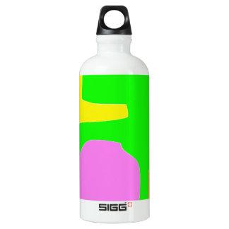 Wilder Schrei Aluminiumwasserflasche